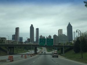 Last view of Atlanta