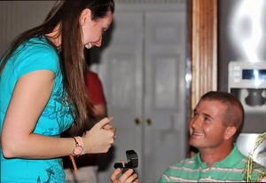A surprise engagement!