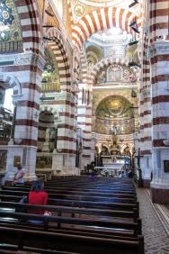 Inside Notre Dame de la Garde