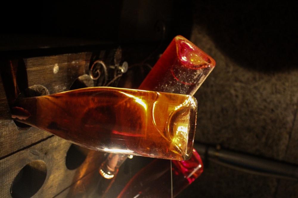 Fermenting Champagne.