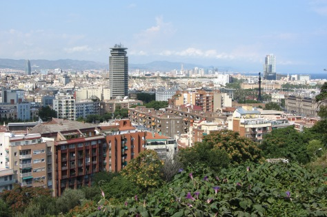 View of Barcelona from our trip in 2013.