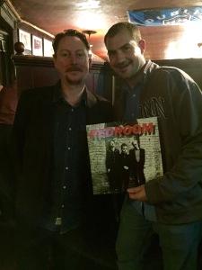 Anthony and Matt and Matt's first record.