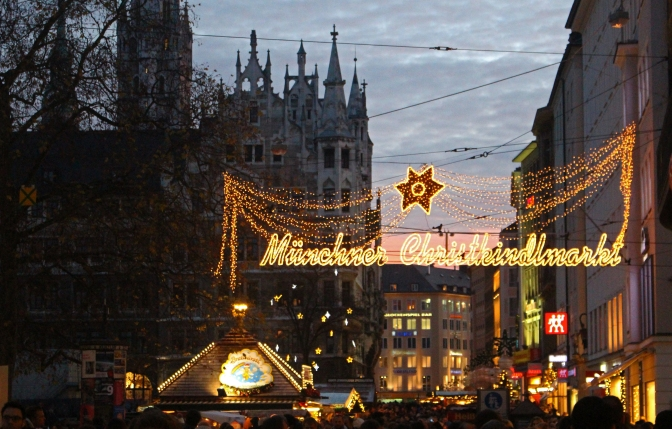 A Tale of Three European Christmas Markets