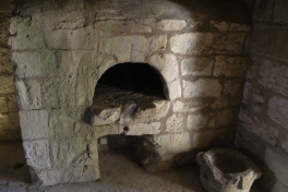 An old bread oven. Made me want pizza.