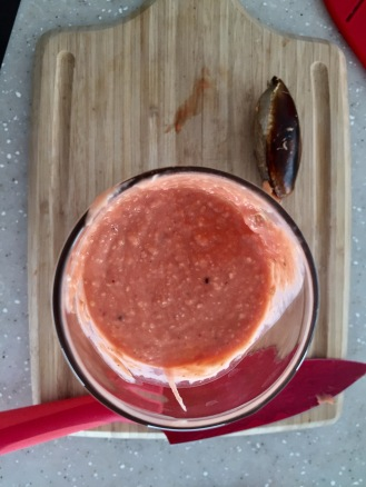Mamey smoothies are delicious!