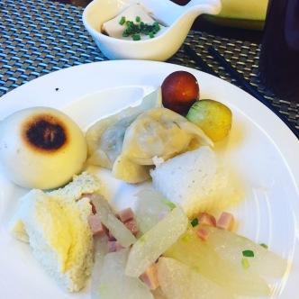 Breakfast in Chengdu.