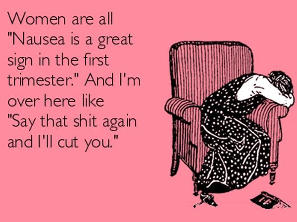 Pregnancy Nausea Meme